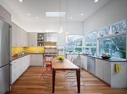 Glass Door Kitchen Wall Cabinet Kitchen White Chair Single Handle Kitchen Sink Brown Wall