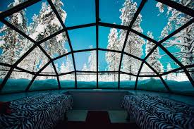 discover two night stay in finland u0027s glass igloos for two
