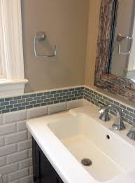 kitchen backsplash height bathroom vanity backsplash height how to tile a bathroom sink