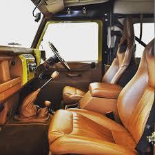 Car Upholstery Edinburgh Retro Edition Interiors Twisted Twisteddefender Style