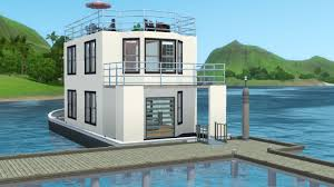 sims3 island paradise images house boat hd wallpaper and