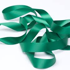 green satin ribbon emerald green satin ribbon