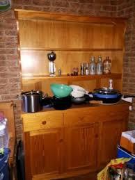 holzregal küche kommode küche anrichte regal holzregal in berlin steglitz ebay