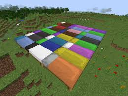 Minecraft How To Make A Bed Beds Now With Color Links In Comments Minecraft