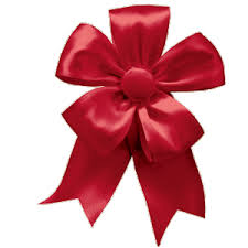 ribbon bow caspari solid christmas ribbon bow