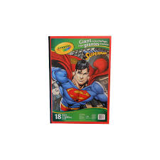 crayola giant colouring pages superman london drugs