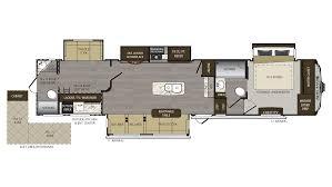 bighorn fifth wheel floor plans 2018 keystone avalanche 395bh model