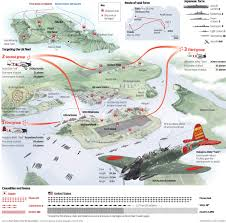 The Wave Arizona Map by Pearl Harbor Attack Map Wwii Pinterest Pearl Harbor Pearl