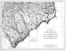 Southern States Of America Map by Map Bibliography Battle Of Camden Project
