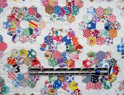 grandmother u0027s flower garden doll quilt top u2013 q is for quilter
