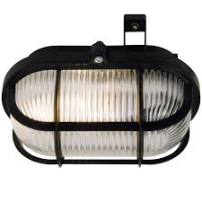 Bulkhead Outdoor Lights Skotle Outdoor E27 Bulkhead Light Black