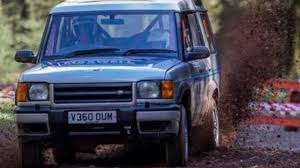 land rover discovery safari m3 powered land rover discovery rally car top gear