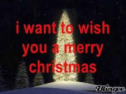 i want to wish you a merry w lyrics