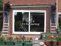 Absco Awning How To Install An Awning Quick Guide Youtube