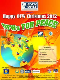 happy ofw christmas party 2012 blas f ople policy center