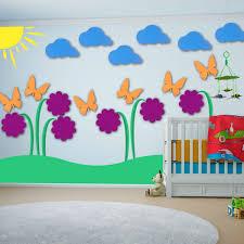 kids wall art woodland nursery woodland wall decor kids teal