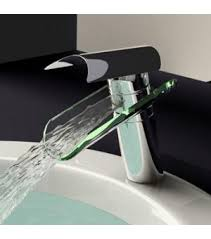 glass waterfall bathroom sink faucet 0204b wholesale faucet e commerce