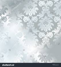 silver wrapping paper vector baroque seamless damask silver texture stock photo photo