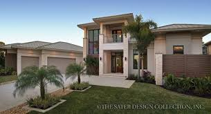 Water View House Plans Golf Water View Oriented House Plans Sater Design Collection