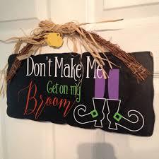 don u0027t make me get on my broom u0027 witch design free silhouette