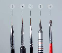 my must have nail art brushes the nailasaurus uk nail art blog