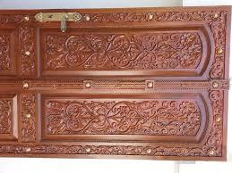 single door design 91 teak wood main door carving designs for houses in kerala india