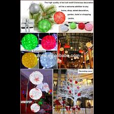 Decorate Christmas Tree Big Balls by Outdoor Christmas Led Light Ball Outdoor Christmas Lighted