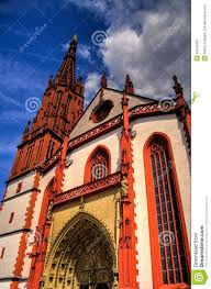 Wurzburg Germany Map by Wurzburg Cathedral Germany Stock Photos Image 12018483