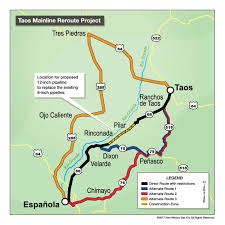 Colorado On A Map by Colorado Firm Clinches 14m Pipeline Contract The Taos News