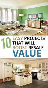 10 easy projects that will boost resale value