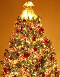 The Best Decorated Tree Decorating A Tree With Ribbon Lovetoknow