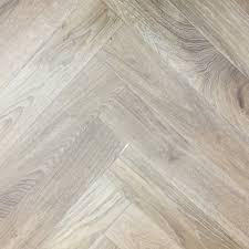 Elka Mm Herringbone Light Smoked Oak Engineered TG Wood Flooring - Herringbone engineered wood flooring