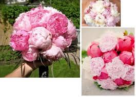Artificial Peonies Mixture Of Real And Artificial Flowers Weddingbee