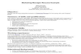 sle project manager resume sle marketing project manager resume paso evolist co