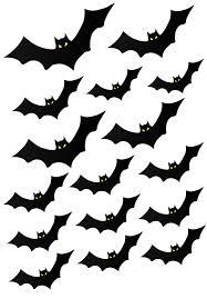 printable halloween decorations bats