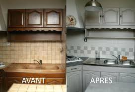 cuisine en chene repeinte meuble cuisine en chene peinture cuisine meuble chene clair
