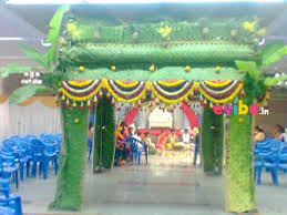 Decoration For Wedding Unique Coconut Leaf Mantap Decor For Wedding Reception Engagement