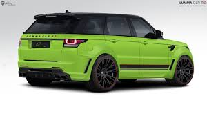 land rover modified lumma design range rover sport modified
