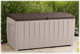 keter novel 90 gal deck box bj u0027s wholesale club
