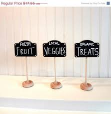 4 chalkboard table stands farmers market collection buffet labels