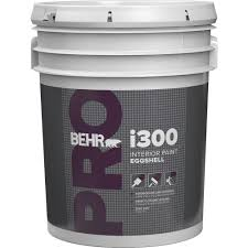 home depot interior paint behr pro 5 gal i300 white eggshell interior paint pr33005 the