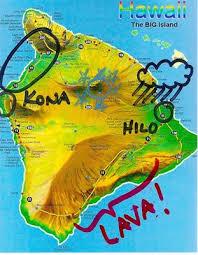 map kona usa big island map annotated island hopping big