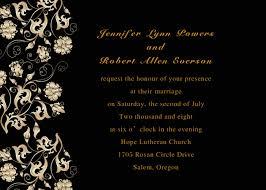 and black wedding invitations black wedding card besik eighty3 co