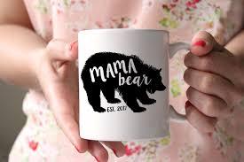 mama bear mug christmas mug for mom gift for new mom
