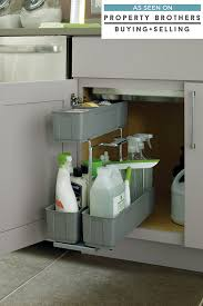 kitchen sink cabinet caddy sink base cleaning caddy cabinetry