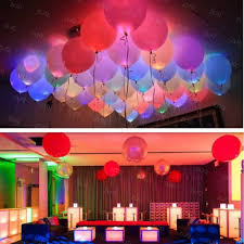 aliexpress com buy 15pcs 12 inches led balloons latex multicolor