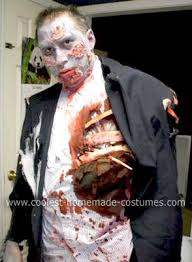 Zombie Halloween Costume Kids Coolest Homemade Zombie Dad Costume Costumes Halloween Costumes