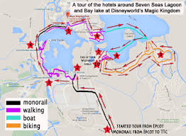 Magic Kingdom Map Orlando by A Walking Tour Of The Hotels Around The Magic Kingdom Lakes The