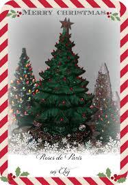 Vintage Atlantic Mold Ceramic Christmas Tree by Ceramic Christmas Tree With Lights 24