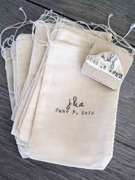 custom favor bags custom wedding favor bags and rubber st e1346067086477